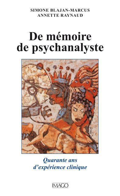 De Mémoire de psychanalyste